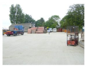 Formwork fabrication and storage facility